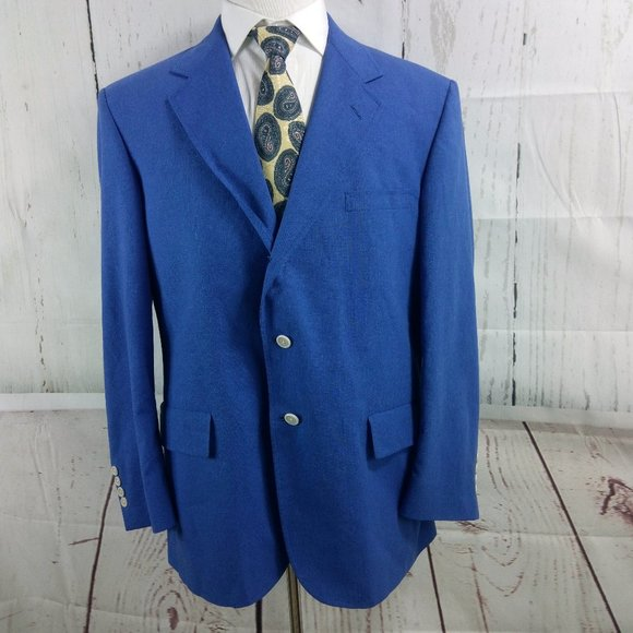 Mark, Fore & Strike Other - Mark, Fore & Strike 44R 3 Button Blue Suit Blazer